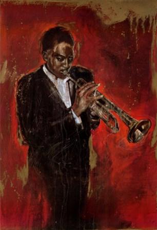 Jazz I by Elena Litvin art print