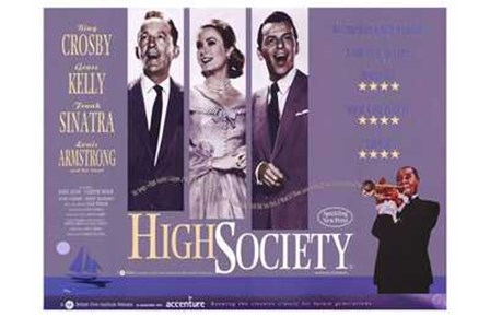 High Society - wide art print