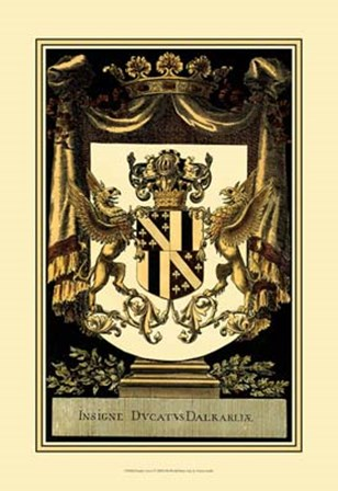 Family Crest I by Vision Studio art print