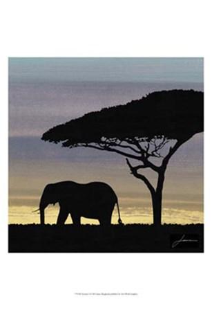 Savanna I by James Burghardt art print