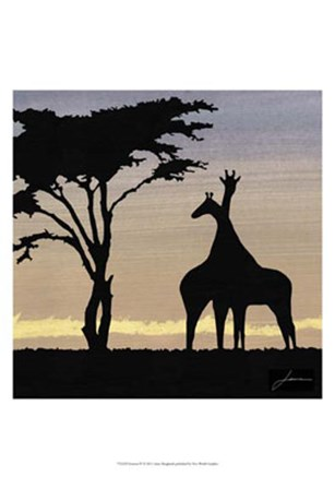 Savanna IV by James Burghardt art print