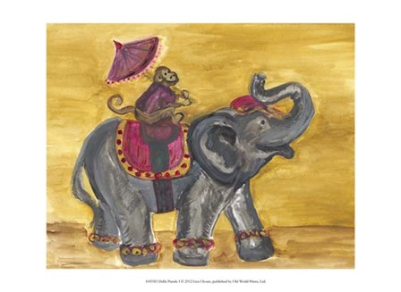 Delhi Parade I by Lisa Choate art print