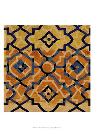 Morocco Tile VI by Ricki Mountain art print