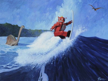 Surfer Joe by Eric Joyner art print