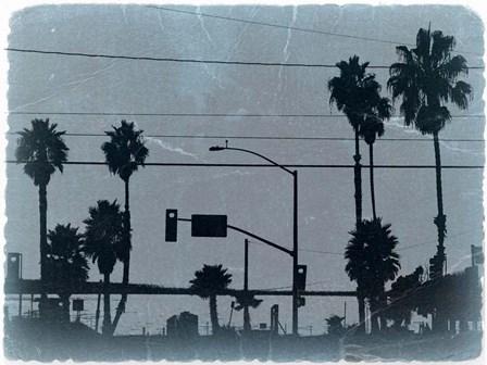 Los Angeles by Naxart art print