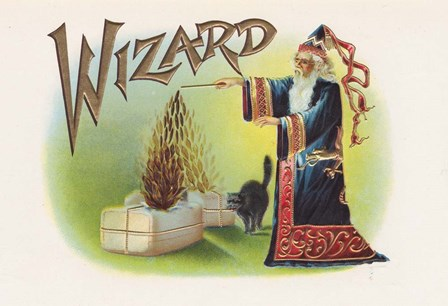 Wizard by Art of the Cigar art print