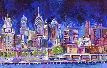 Philadelphia by Richard Wallich art print
