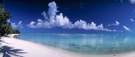 Matira Beach, Bora Bora Polynesia by Panoramic Images art print