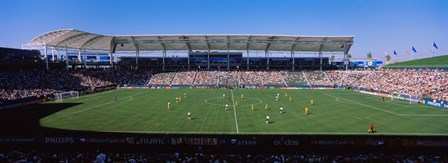Germany vs. Sweden, FIFA Women's World Cup, City of Los Angeles, California by Panoramic Images art print