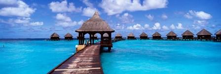 Thulhagiri Island Resort, North Male Atoll, Maldives by Panoramic Images art print