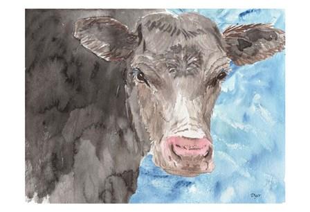 Bull by Beverly Dyer art print