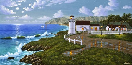 Point Montara, CA by Eduardo Camoes art print