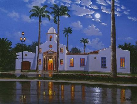 Boca Raton Town Hall, FL by Eduardo Camoes art print