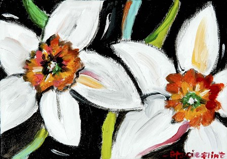Daffodils by Stacie Flint art print