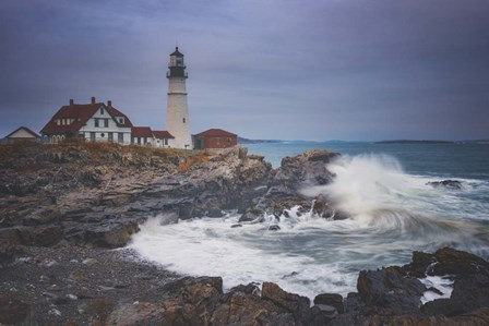 Cape Elizabeth Storm by Darren White Photography art print