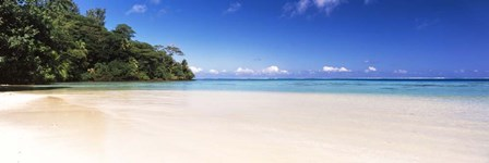 Beach, Tahiti, French Polynesia by Panoramic Images art print