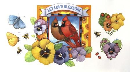 Let Love Blossom by Art Brands art print