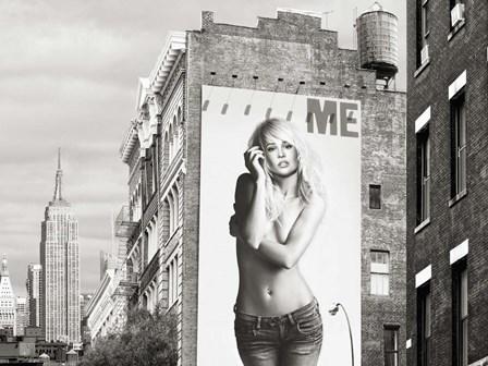 Billboards in Manhattan #2 by Julian Lauren art print