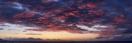 Dramatic Sunset, Southeast Alaska by Panoramic Images art print