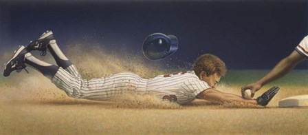 Baseball Player by Dan Craig art print