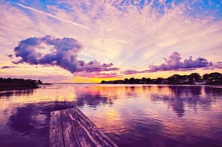 Sunset Dock by Bill Carson Photography art print