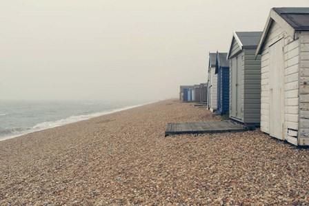 Beach Cabanas by Sarah Gardner art print