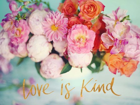 Love is Kind by Sarah Gardner art print