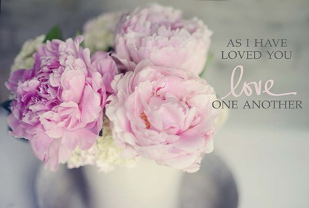 Love One Another by Sarah Gardner art print