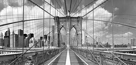 Brooklyn Bridge by Shelley Lake art print