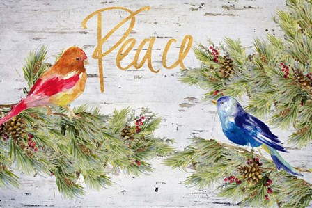 Holiday Peace by Lanie Loreth art print