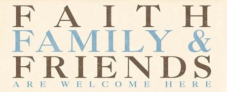 Family Phrase I by SD Graphics Studio art print