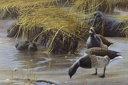 Nauesink River Mates by Michael Budden art print